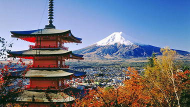 Nhật Bản quyến rũ ngày thu vàng